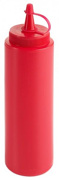 Quetschflasche 0,25 l, rot