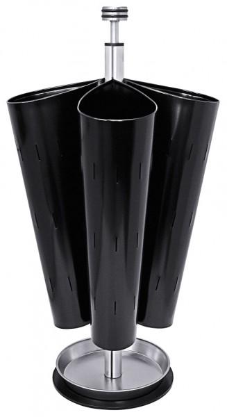 Schirmstaender, schwarz