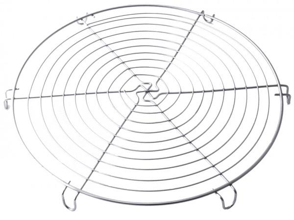 Kuchenabkuehlrost rund 30,0 cm-Hoehe 2,0 cm