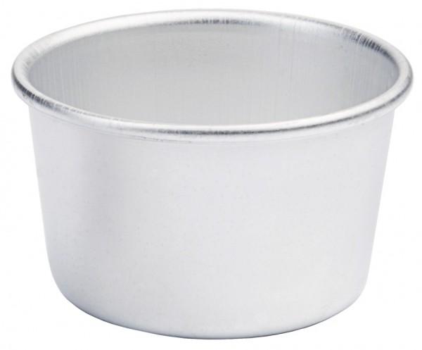 Dariol-Becherfoermchen Alu Boden 5,0 cm-Hoehe 3,5 cm-Volumen 90 ml