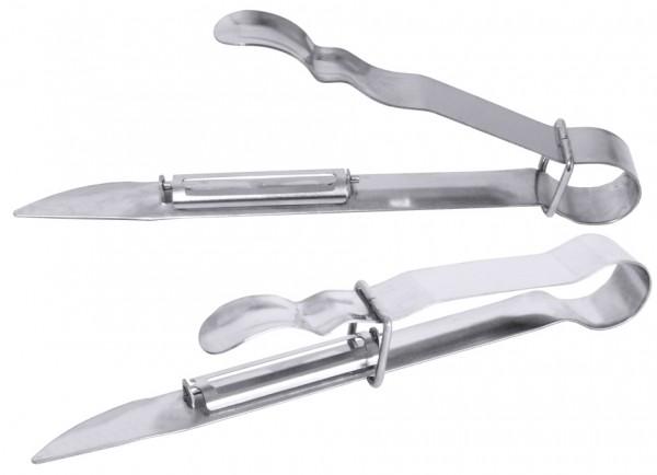 Spargelschaeler-Laenge 17,5 cm-Edelstahl 18-10