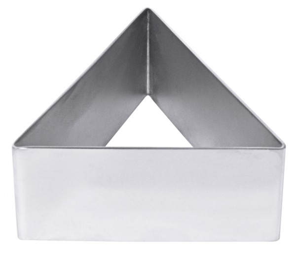 Schaumspeisenform, dreieckig-8,5 cm