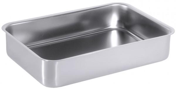 Auslage-Auflaufform-Masse 31,5 x 21,5 cm-Hoehe 6,5 cm-Volumen 3,0 Liter