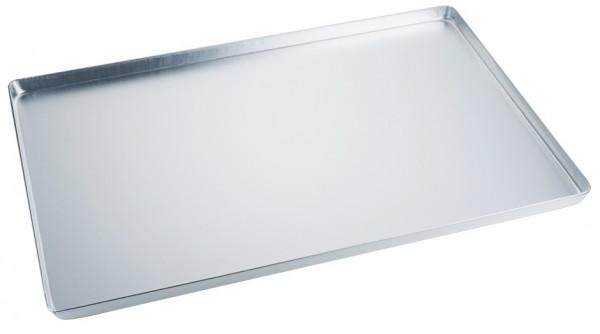 Backwaren Auslageblech-Masse 60,0 x 40,0 cm-Aluminium-Hoehe 2,0 cm