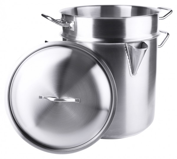Wasserbadtopf-Inhalt 15,0 Liter-gross