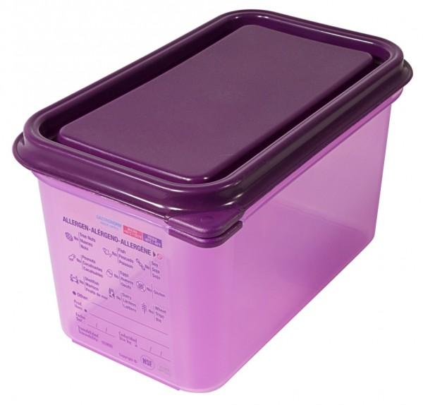 4 cm tief GN-Behälter Kocheinsatz GN 1//2 ca