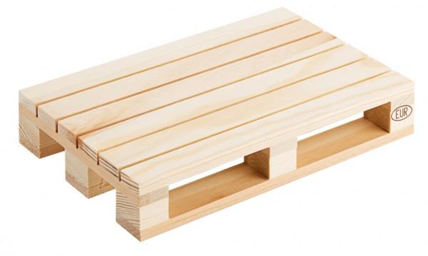 Holzpalette 20 x 13 cm, natur