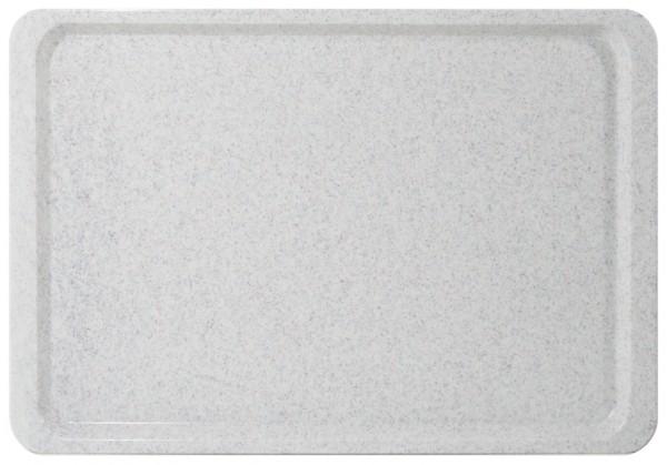 Tablett GN 1/1-Laenge 53,0 cm-Breite 32,5 cm-Hoehe 1,6 cm-granitgrau