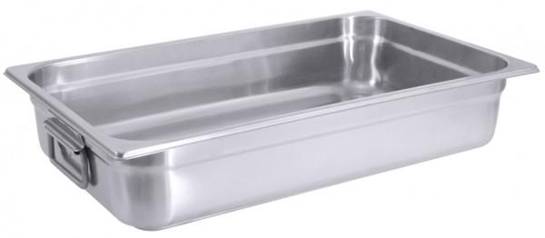Bratpfanne GN 1/1-Masse 53,0 x 32,5 cm-Hoehe 10 cm-Volumen 15 Liter