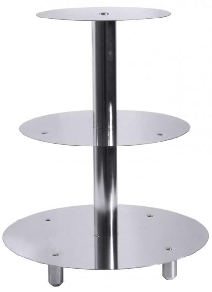 Etagen-Tortenstaender-20 x 26 x 32 cm-Hoehe 39,0 cm