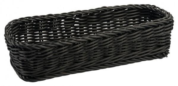 Poly-Besteckkorb, schwarz
