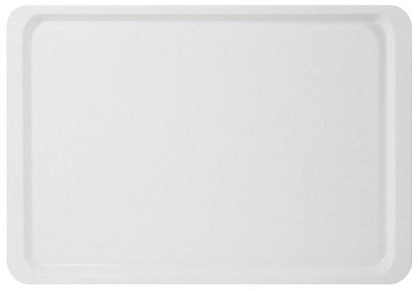 Tablett GN 1/1-Laenge 53,0 cm-Breite 32,5 cm-Hoehe 1,6 cm-weiss