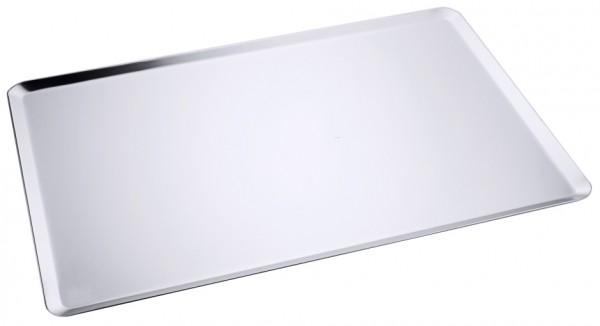 Backblech-Edelstahl-Masse 60 x 40 cm-Hoehe 0,7 cm