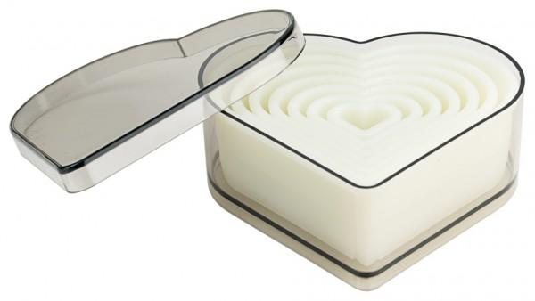 Ausstechersatz Herz - Herzschneider