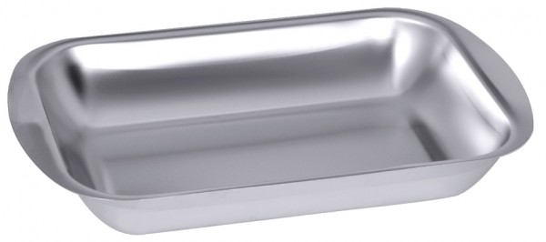 Rechteckige Schale-Masse 37,5 x 27,0 cm-Hoehe 6,0 cm-Volumen 3,3 Liter