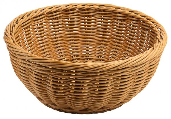 Polykorb, rund 25 cm, braun