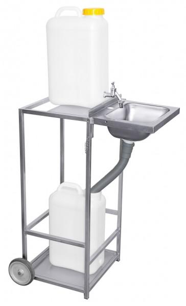 Mobiles Waschbecken-Hoehe 85,0 cm-Breite 45,0 cm-Tiefe 36,0 cm