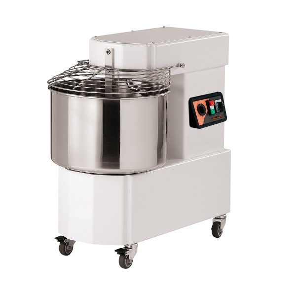 Teigknetmaschine - Kessel 33 Liter - Teigmasse 25 Kg - 230/400 Volt