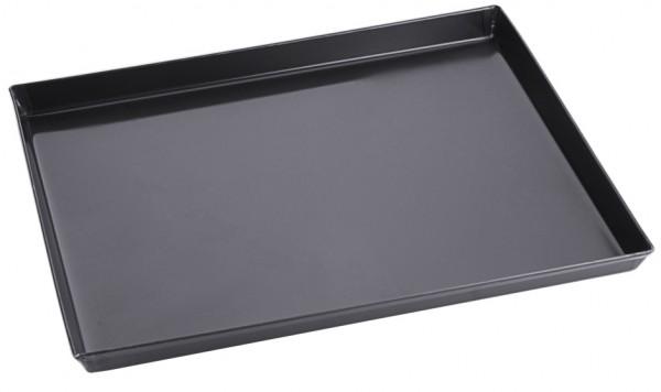 Pizzablech-rechteckig-Masse 40 cm x 30 cm-Hoehe 3,0 cm