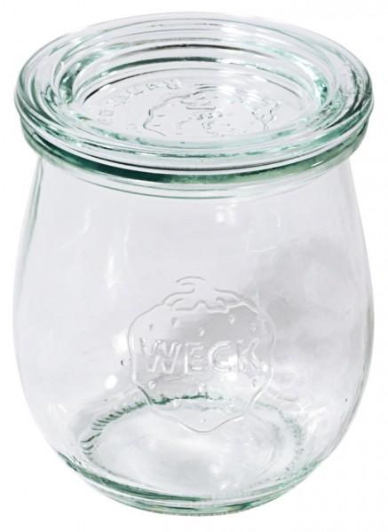 Weck® Tuplemglas 580 ml 10,0 cm-Hoehe 8,5 cm-6 Stk.