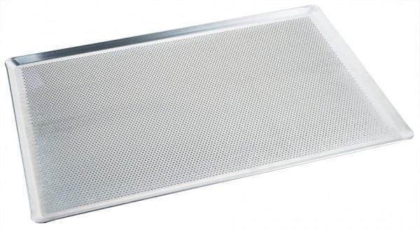 Backblech - perforiert - Maße 60,0 x 40,0 cm - Höhe 1,0 cm - Stärke 1,5 cm