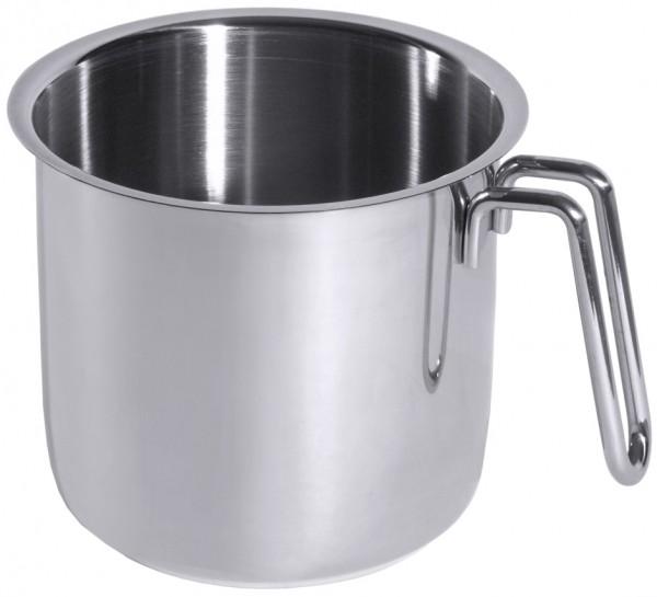 Milchkochopf innen 16 cm-Hoehe 13,5 cm-Volumen 2,5 Liter