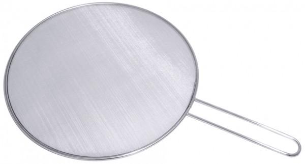 Pfannen Spritzschutz aussen 33 cm-Stiellaenge 18 cm