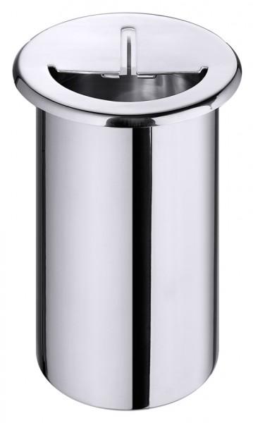 Messerabstreichbehaelter aussen 10,4 cm-Hoehe 20,0 cm-Volumen 1,5 Liter