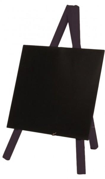 Tischstaffelei - Fläche 13,0 x 15,0 cm - Höhe 24,0 cm - schwarz