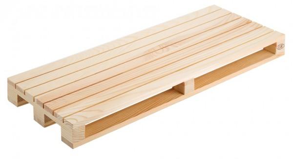 Holzpalette 40 x 15 cm, natur