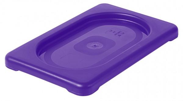 GN-Deckel 1/9, violett