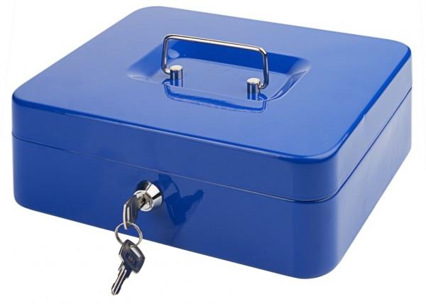 Geldkassette 25 cm, blau