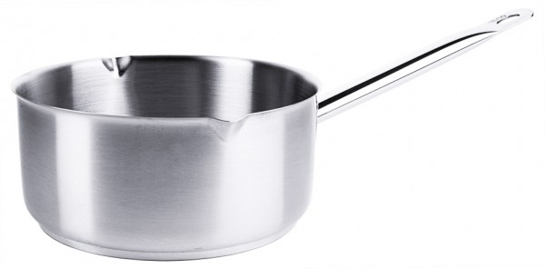 Milchkasserolle 20,0 cm-Hoehe 9,5 cm-Boden 18,0 cm-Volumen 2,5 Liter