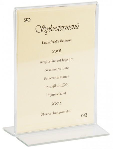 Acryl Kartenhalter-30,0 cm x 21,0 cm -fuer DIN A4 Karten