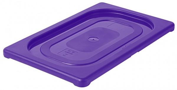 GN-Deckel 1/4, violett