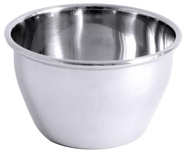 Puddingfoermchen aus Edelstahl Boden 4,8 cm-Hoehe 4,8 cm-Volumen 150 ml