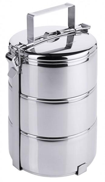 Etagen Essentraeger 3-teilig- 14,0 cm-Hoehe 26 cm-Behaelter 0,9 Liter