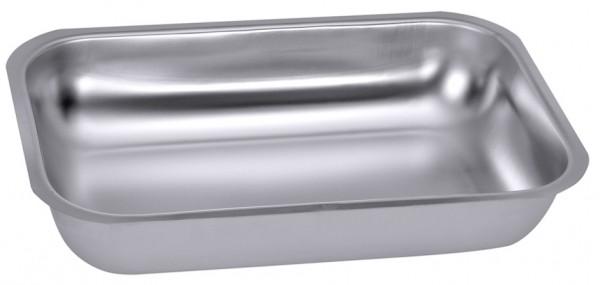 Rechteckige Schale-Masse 19,0 x 12,0 cm-Hoehe 4,0 cm-Volumen 0,6 Liter
