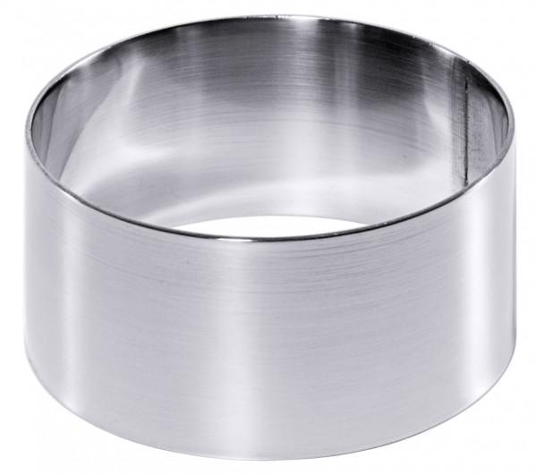 Mousse-Ring 7 cm Set a 2 St.-Hoehe 3,5 cm